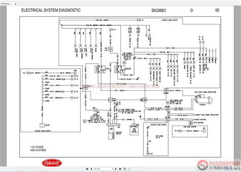 Peterbilt Shematic Diagram 387 Electrical Auto Repair