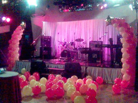 Balloon Es Krim Balon Hias Ballon Murah dekorasi pelaminan di kolam renang di surabaya wedding