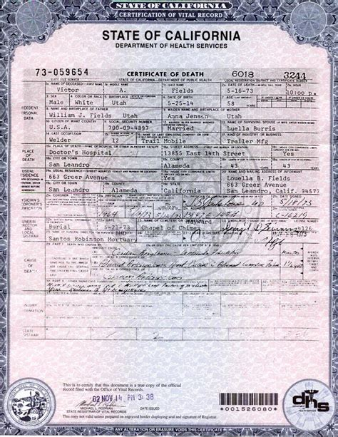 California Birth Certificate Records Best Photos Of California Birth Certificate Los Angeles County Birth Certificate