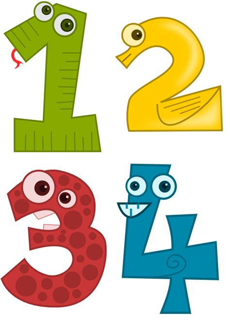 printable numbers with animals printables