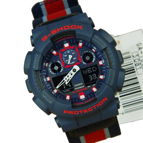 best g shock military watch ga 100mc 2a ga 100mc casio g shock military cloth men s watch
