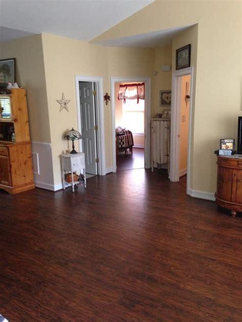 featured floor amber hickory laminate lumber