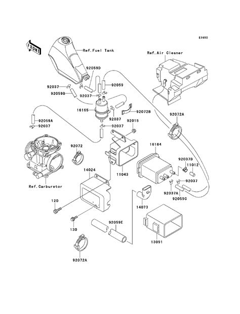 kawasaki parts diagram kawasaki klr250 kawasaki klr250 parts diagrams