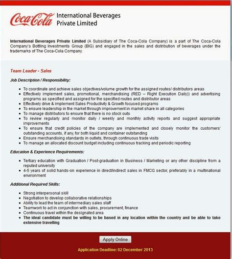 Coca Cola Scholarship Letter Of Recommendation international beverages limited the coca cola