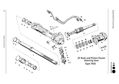 rack and pinion steering diagram rack and pinion rebuild diagram imageresizertool