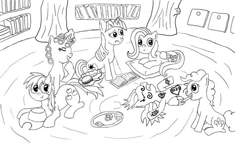 Sleepover Coloring Pages sleepover free coloring pages