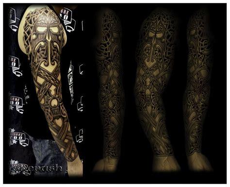 celtic tribal sleeve tattoos 20 best images about celtic tatt on sleeve