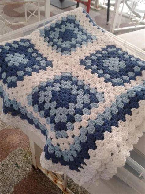 crochet mantas manta crochet cuna algodon daniyaiza artesanio