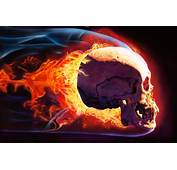 Airbrushing Flames Skulls Images