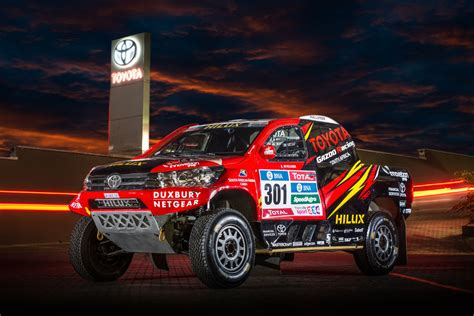 Toyota Gazoo Racing Toyota Gazoo Racing South Africa Dakar Rally 2016
