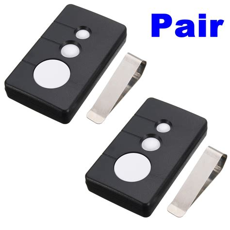 pcs mhz  button garage door remote opener fit sears