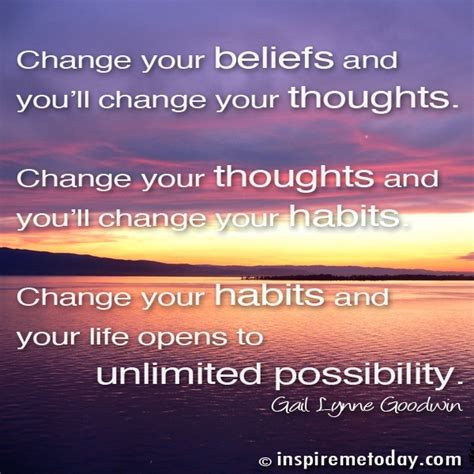 think change your thoughts change your books change your beliefs and you ll change your thoughts