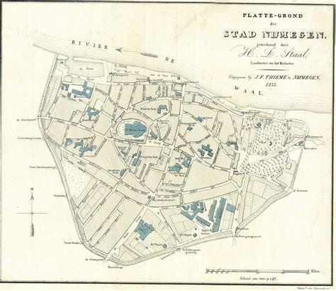 Udayton Undergrad Plus Mba by Nijmegen Nijmegen In Plattegrond Nijmegen 1833
