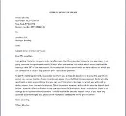 Sle Letter Of Intent To Vacate Apartment by Part Time Status Change Letter The Knownledge