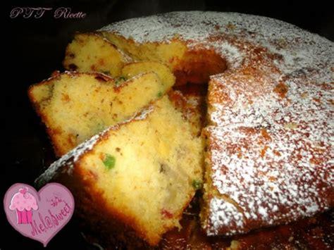 cucinare torta di banane torta di banane e canditi alla panna fresca ptt ricette