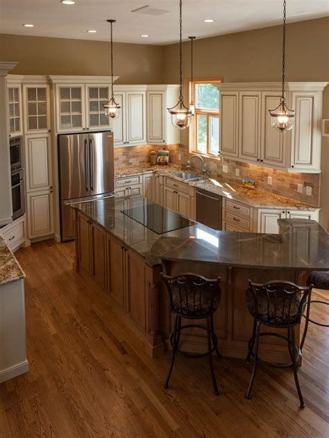 tuscan kitchen islands traditional tuscan kitchen makeover chantal devane hgtv
