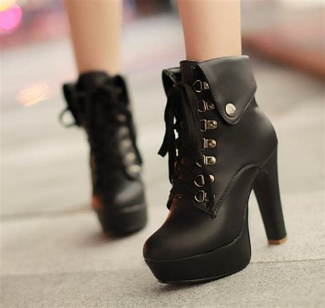 Heels Boot Korea Gds 284 fashion heels martin boots 183 fashion kawaii japan korea 183 store powered by storenvy
