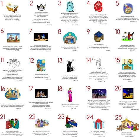 printable advent calendar scriptures modern typography advent cards free printable with