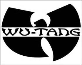 Children Kitchen Accessories - wu tang clan logo sticker