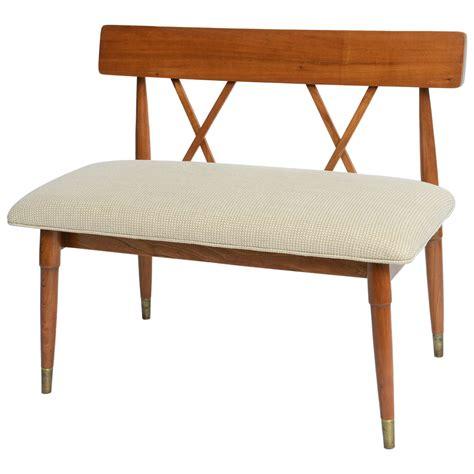 paul mccobb bench paul mccobb style loveseat bench at 1stdibs