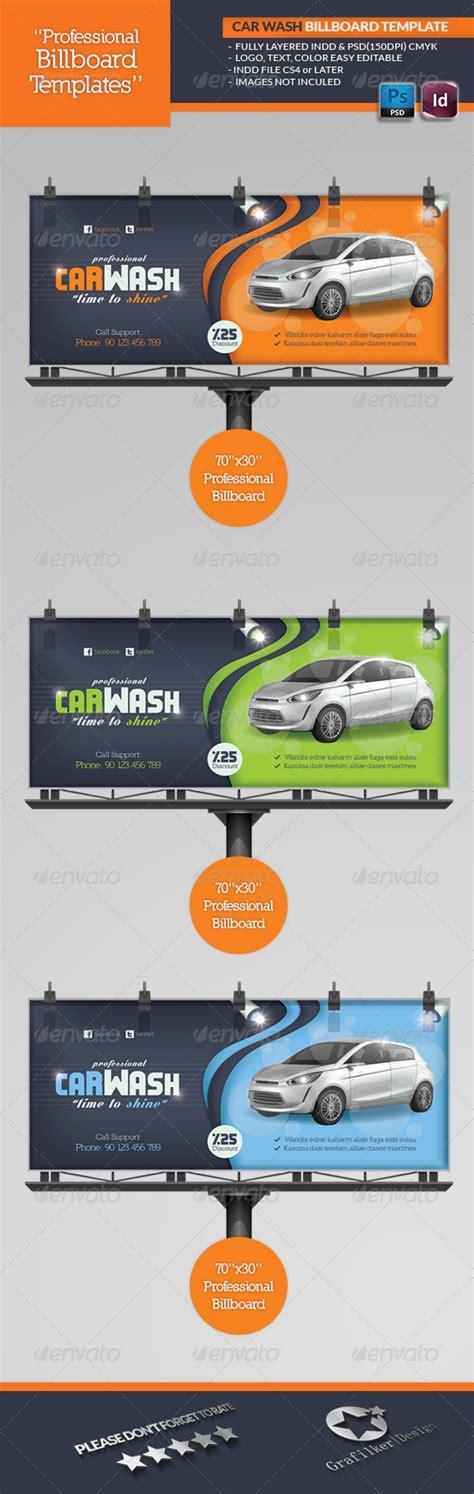billboard design template car wash billboard template car wash billboard and cars