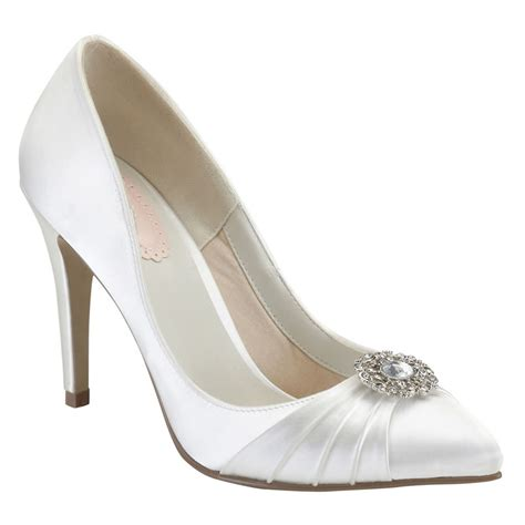 pink paradox honey wedding shoes bridal