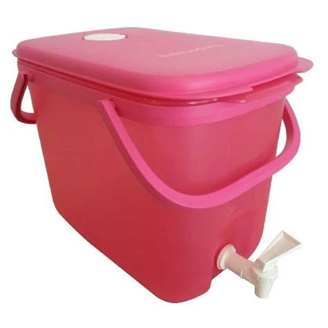 tupperware limited edition pink color water all