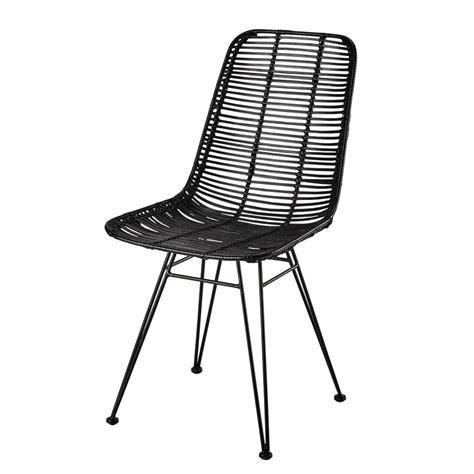chaise rotin maison du monde chaise en rotin et m 233 tal pitaya maisons du monde