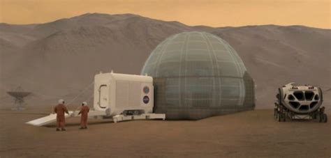 mars in the first house this is what the first houses on mars will probably look like mnn mother nature