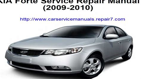 free car repair manuals 2011 kia forte transmission control service repair manual kia forte 2009 2010 youtube