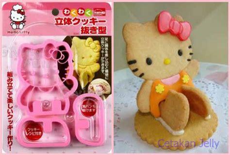 Cetakan Kue Kering Cutter Cookies Bento Bekal Mold Cat Kucing cetakan cookies hello bread cookie cutter 3d cetakan jelly cetakan jelly
