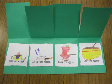 picture books to teach sequencing grade fanatics a week of apples