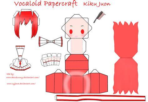 Chibi Papercraft - chibi kiku juon papercraft by syjana on deviantart