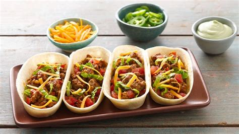 old el paso taco boats directions easy beef ten minute taco boats recipe from tablespoon