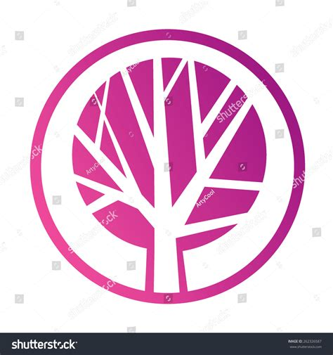 Tree Icon Concept Of A Stylized Tree With Leaves Green Tree Vector Logo Design Template Garden Green Tree Vector Logo Design Template Stock Vector More Images Of 2015 465664290 Istock