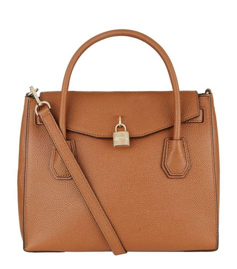 New Motif Michael Kors Specchio Shopping Tote 4in1 michael michael kors mercer large leather shoulder bag in brown lyst