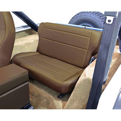 jeep seats fold rugged ridge 13462 37 fold and tumble rear seat spice 76