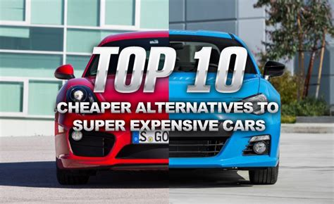 why is subaru so expensive top 10 cheaper alternatives to more expensive cars