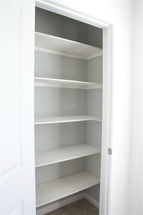 Closet Shelf Diy by Basic Diy Closet Shelving