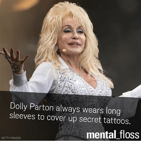 Dolly Parton Meme - dolly parton always wears long sleeves to cover up secret
