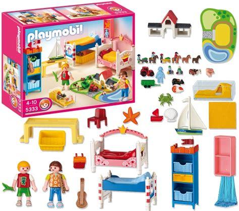 chambre enfant playmobil playmobil dollhouse chambre des enfants avec lits