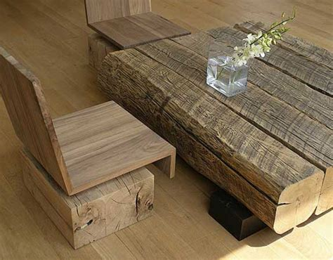 Repurposed Wood Furniture by Andr 233 Joyau S Salvaged Wood Furniture Celebrates Reclaimed