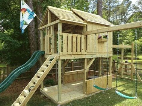 backyard play structure plans 25 best ideas about kid forts on pinterest kids indoor