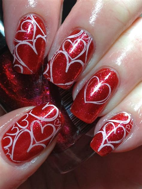 nail for valentines 22 sweet and easy valentine s day nail ideas nail