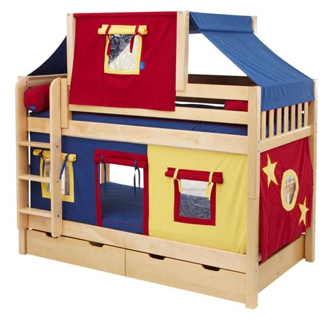 kids furniture ideas toddler bunk beds fun fort bunk