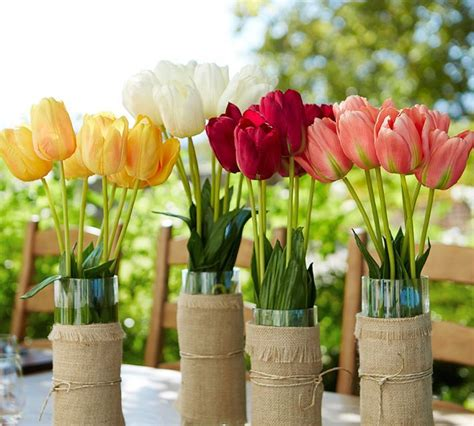 Spring Decorations | how to incorporate tulips into your spring d 233 cor 49 ideas