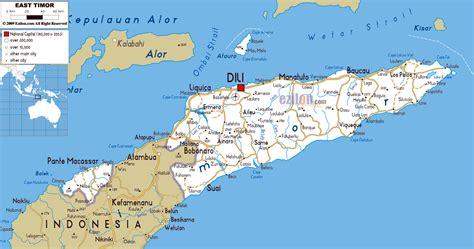 world map east timor maps of east timor detailed map of east timor timor