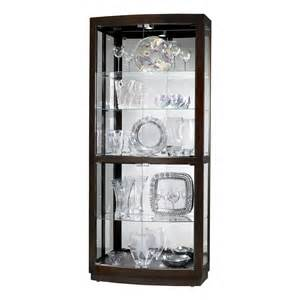 Curio Cabinets Hardware Howard Miller 680395 Bradington Curio Cabinet Atg Stores