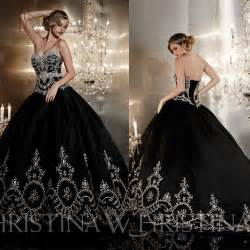 Ball gown embroidery wedding dress long bridal gown lace up back