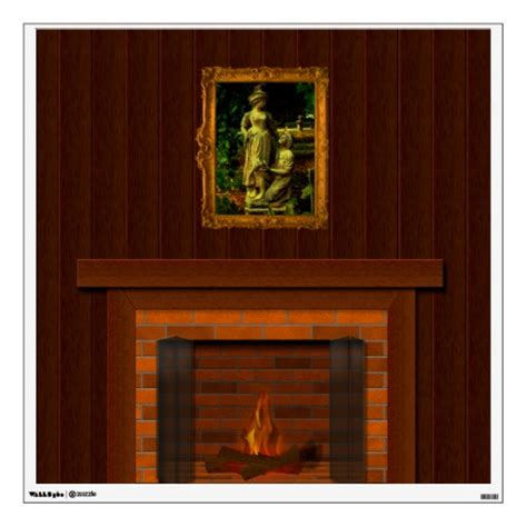 fireplace props beautiful fireplace prop 3 peel and stick wall mural